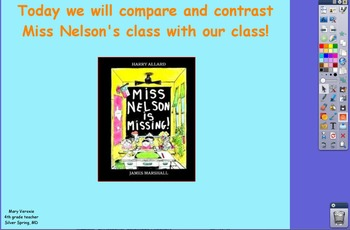 Miss Nelson is Missing Flipchart