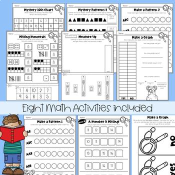 Miss Nelson is Missing Kindergarten Substitute Plans