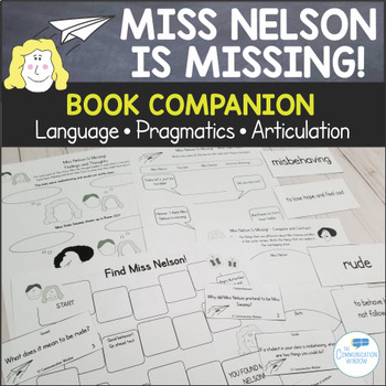 Miss Nelson is Missing! Language, Pragmatics, and Articulation Unit