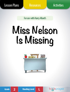 Miss Nelson is Missing Lesson Plans & Activities Package, Second Grade (CCSS)