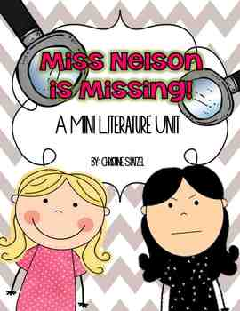 Miss Nelson is Missing Mini Literature Unit