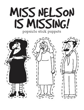 Miss Nelson is Missing Puppets
