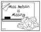 Miss Nelson is Missing--Response Journal for K-2