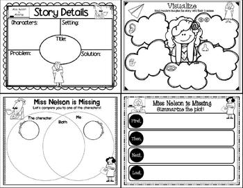 miss nelson is missing activities pdf