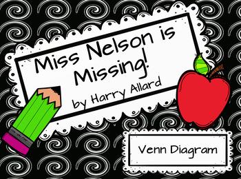 Miss Nelson is Missing Venn Diagram