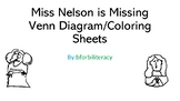 Miss Nelson is Missing-Venn Diagram-Coloring Sheets