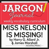 Miss Nelson is Missing! Vocabulary - Back to School Vocabulary