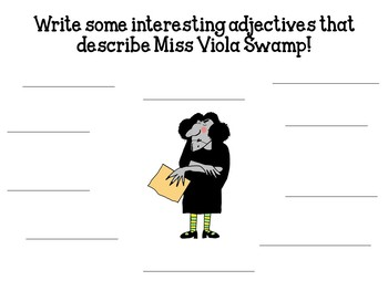 Miss Nelson is Missing by Harry Allard:    A Complete Literature Study!