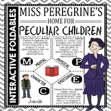 Miss Peregrine's Home for Peculiar Children - Reading and Writing Foldables