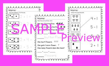 Miss Penny's Math Set 1 for Kindergarten