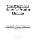 Miss Peregrine's Home for Peculiar Children Teaching Packet