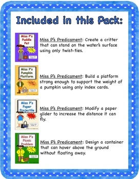 Miss P's MEGA Primary Pack (STEM with a Twist)