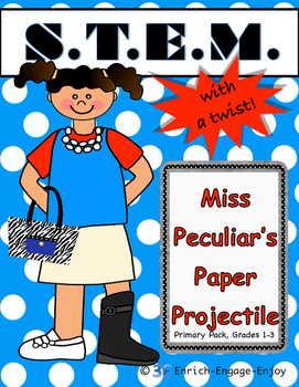 Miss P's Paper Projectile (Primary) STEM with a Twist