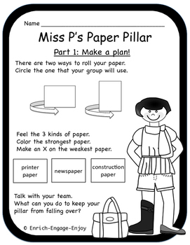 Miss P's Primary Pack #1 -- STEM with a Twist
