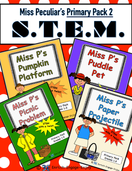 Miss P's Primary Pack #2 -- STEM with a Twist