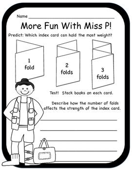 Miss P's Pumpkin Platform (Intermediate) STEM with a Twist