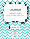 Miss Rumphius-Comprehension Questions