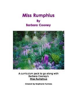 Miss Rumphius Curriculum Pack