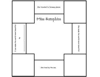 Earth Day: Miss Rumphius Craftivity