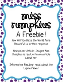 Miss Rumphius Freebie