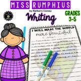 Miss Rumphius Writing