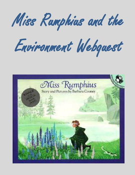 Miss Rumphius and the Environment using Ipads