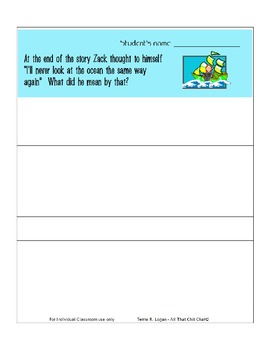 Miss Smith Under the Ocean - Language and Literacy Pack