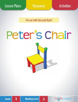Peter's Chair Lesson Plans & Activities Package, Second Grade (CCSS)