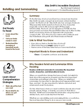 Miss Smith's Incredible Storybook Lesson Plans & Activities Package (CCSS)
