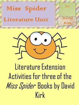 Miss Spider Literature Unit