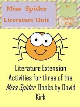 Miss Spider Literature Unit