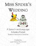 Miss Spider's Wedding Speech and Language Pack