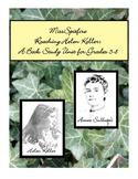Miss Spitfire:  Reaching Helen Keller:  A Book Study Unit