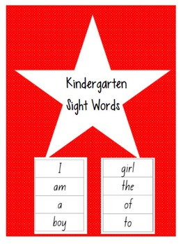 Miss Sticker's Toolbox Kindi sight words set