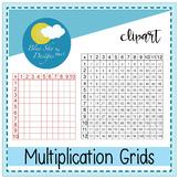 Mrs T's Multiplication Grids - Clip Art Set