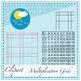 Miss T's Multiplication Grids - Clip Art Set