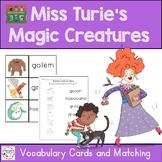 Miss Turie's Magic Creatures Vocabulary Freebie