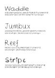 Miss W's Fonts