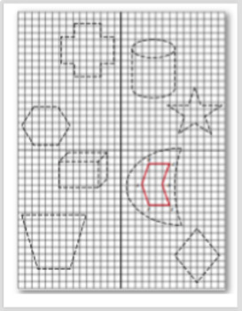 Missile Mission - Geometric Transformations (Translations/Reflections/Rotations)