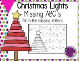 Alphabet Worksheet - Missing ABC's