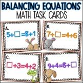 Missing Addend - Balance Equations Task Cards