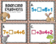 Missing Addend - Balance Equations Task Cards