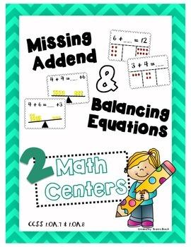 Missing Addend & Balancing Equations