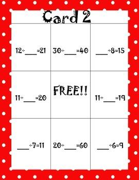 Math Bingo! Missing Addends (Class Set)