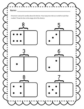 Missing Addend Domino Math Activities - Teaching Missing Addends with Dominos!