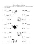 Missing Addend First Grade Assessment and Activities 1OA.D