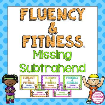 Missing Subtrahends Fluency and Fitness Brain Breaks