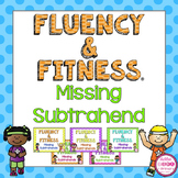 Missing Subtrahends Fluency and Fitness Brain Breaks