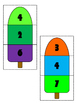 Missing Addend Math Center Game: Popsicle Match Up!
