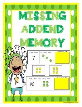 Missing Addend Memory